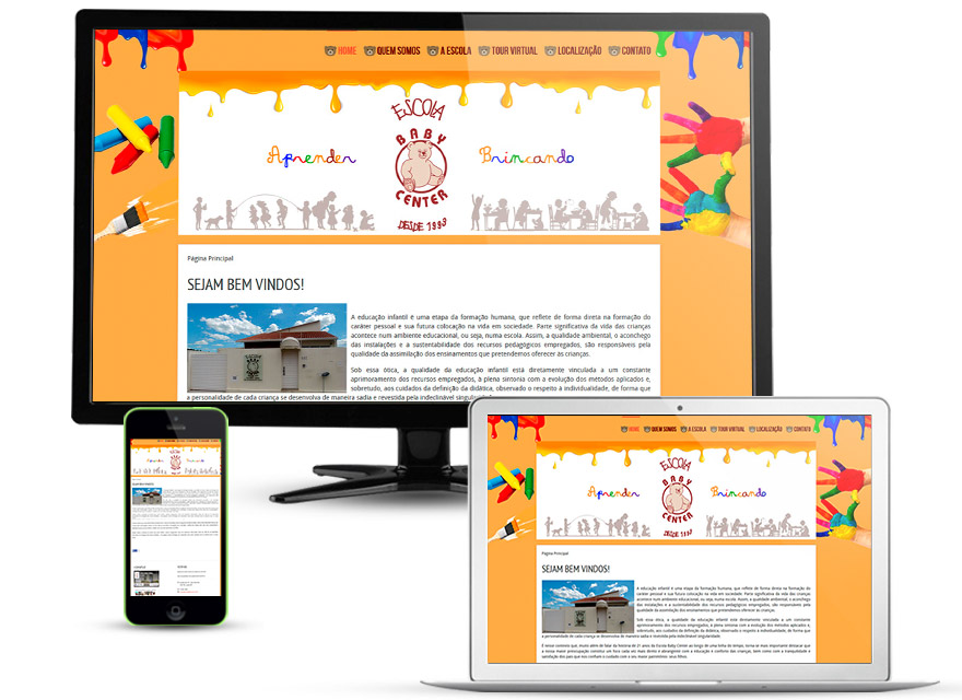 ESCOLA BABYCENTER - Site